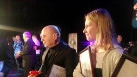 Alla Ceapai la decernarea premiilor CJI, 13 decembrie 2012.