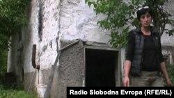Благица Ристеска од Крушево, самохрана мајка на две ќерки.