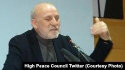محمدعمر داوودزی رئیس پیشین دارالانشای شورای عالی صلح