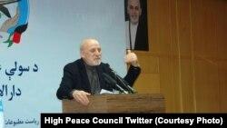 عمر داوودزی نماینده ویژه رئیس جمهور افغانستان برای اجماع منطقهای