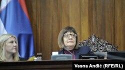 Predsednica Skupštine nije navela koliko će pauza trajati
