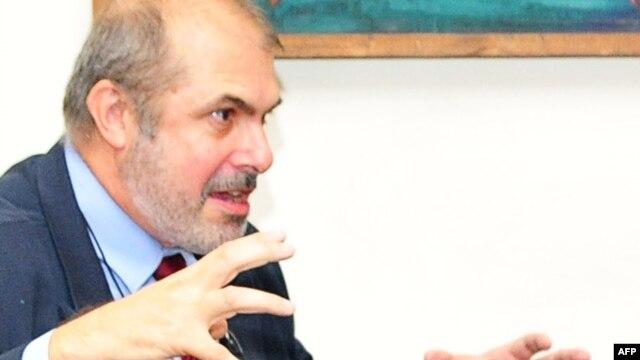 Armenia -- The EU special representative for the South Caucasus, Philippe Lefort, during a visit to Yerevan, 09Jun2011