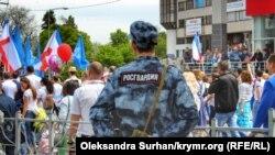 Парад 1 мая в Симферополе