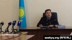 Судья Актюбинского городского суда № 2 Ерлан Бакытжан. 15 сентября 2016 года.