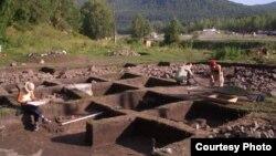 Раскопки на Алтае