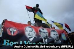 Мітинг з нагоди свята Покрови та річниці УПА, Київ, 14 жовтня 2011 року
