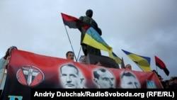 Мітинг з нагоди свята Покрови та 69-ї річниці УПА, Київ, 14 жовтня 2011 року