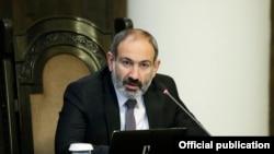 Армения премьер-министрі Никол Пашинян.
