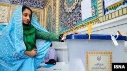 Другі тур парлямэнцкіх выбараў у Іране, галасаваньне