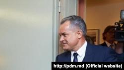 Vlad Plahotniuc la Strasbourg