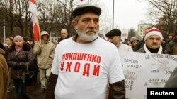 Акция протеста белорусской оппозиции. Минск, 3 ноября 2013 года.