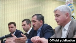 Юнус-Бек Евкуров на встрече с индийской делегацией