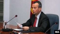 Macedonia - President of Macedonian Parliament, Trajko Veljanoski - 08Jul2010