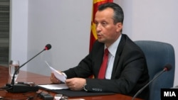 Macedonia - President of Macedonian Parliament, Trajko Veljanoski - 08Jul2010