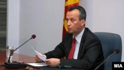 Претседателот на Собранието на Македонија Трајко Вељаноски
