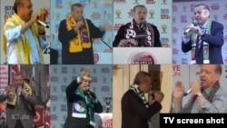 """Erdowie, Erdowo, Erdogan"" mahnısının klipindən bir kadr"