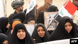 مشهد من تظاهرة البصرة يوم 8 كانون الثاني