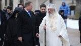 Klaus Iohannis și Patriarhul Daniel, la marcarea a 160 de ani de la Mica Unire