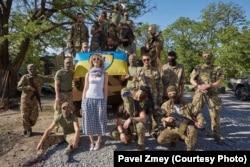 """С батальоном """"Азов"""" Фото: Роман Змей"""