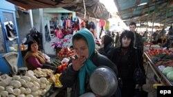 Рынок в Сухуми