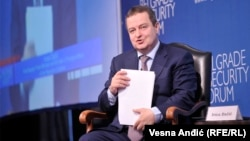"""Serbian Foreign Minister Ivica Dacic said European Union pressure on Belgrade to join sanctions against Russia was """"absolutely unacceptable."""""""