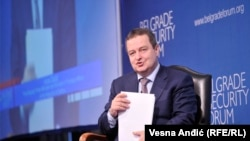 Ivica Dačić na Beogradskom bezbedonosnom forumu na temu partnerstva sa NATO