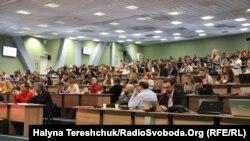 Журналісти під час другого медіа-форуму, Львів, 13 листопада 2014року