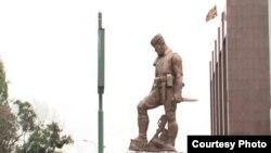 Споменикот на Андон Јанев Лазов - Ќосето во Скопје