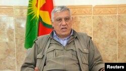 Cemil Bayik, lider i Partisë së Punëtorëve të Kurdistanit.