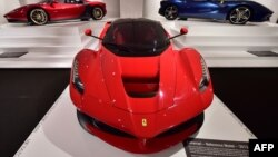 آخرین فراری مدل لافراری هفت میلیون دلار فروخته شد
