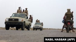 Военнослужащие армии Судана в боях за город Ходейда, в составе сил коалиции