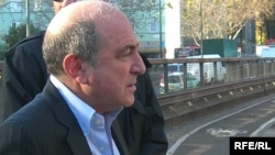 Boris Berezovsky in London in 2007