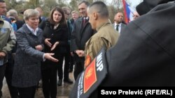 Роуз Гетемюллер и президент Черногории Филип Вуянович