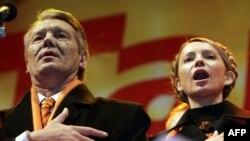 Viktor Yushchenko və Yuliya Tymoshenko