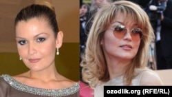 While Lola (left) seems unlikely to return to Uzbekistan, it's unclear where Gulnara is these days.