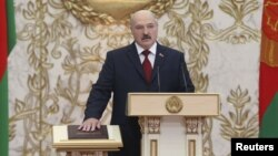 Інаўгурацыя Аляксандра Лукашэнкі, 6 лістапада 2015 году