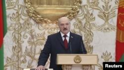 Інаўгурацыя Аляксандра Лукашэнкі, Менск, 6 лістапада 2015
