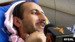 Idrak Abbasov 2009-cu ildə döyülüb xəstəxanada yatarkən