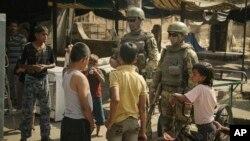 Ռուս զինվորները՝ Դեյր էզ-Զորում, 15-ը սեպտեմբերի, 2017թ.