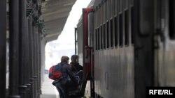 Železnička stanica u Beogradu, Foto: Vesna Anđić