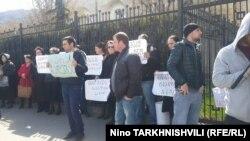 Tbilisidə aksiya - 22 mart 2017