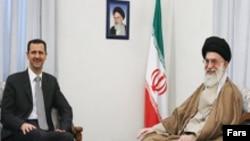 رهبر جمهوری اسلامی می گوید که «اهداف آمریکا در منطقه تحقق نیافته است.»