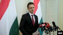 Венгрия -- тышкы иштер министри Петер Сийярто