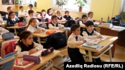 Azerbaijan -- School No:20 in Baku, Oct2012