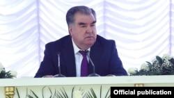 Эмомали Рахмон в Хороге. Фото пресс-службы президента Таджикистана