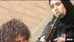 نمتیی از فیلم راه سوم که در جشنواره فیلم فجر به نمایش در آمد