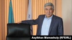 ЖСДП төрағасы Жармахан Тұяқбай. Алматы, 12 наурыз 2015 жыл.