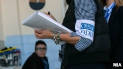 Наблюдатель от БДИПЧ/ОБСЕ. Архивное фото