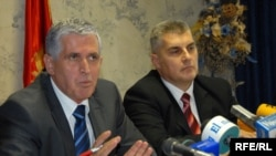 Бајрам Реџепи (лево)