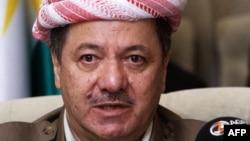 Ирактағы Күрдістан автономиясының лидері Массуд Барзани. Ирак, 6 қыркүйек 2011 жыл.